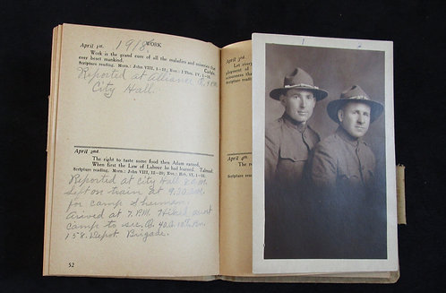 MACHINE GUN BATTALION SOLDIER'S DIARY