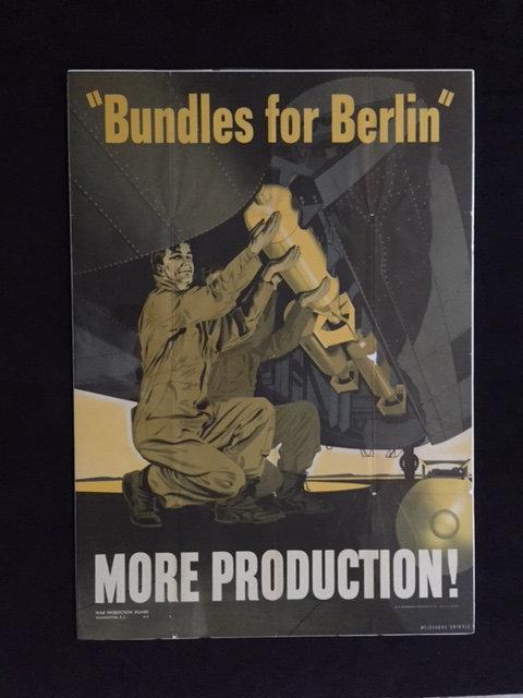 'Bundles for Berlin.' MORE PRODUCTION