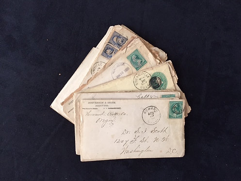 Oregon Prospector's 1887-1894 Letter Collection