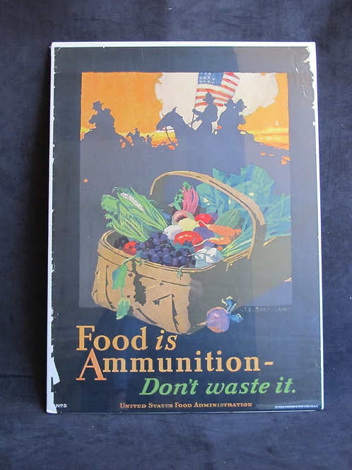 Food is Ammunition—Don't Waste it