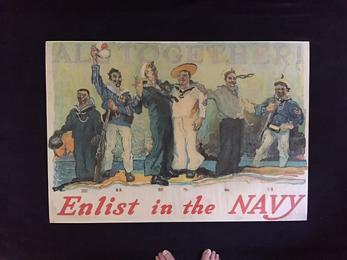 SOLD: ALL TOGETHER/Enlist in the Navy
