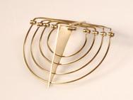 עיצוב תכשיטים | תל אביב | חנוכיית זהב