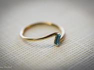 טבעת זהב 14 קרט