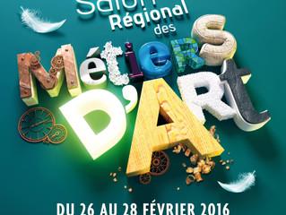 Salon des Métiers d'Art d'Orléans 26 au 28 Février 2016.