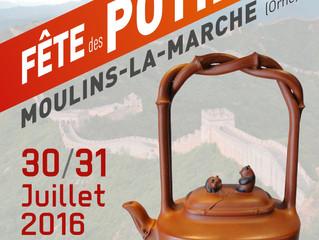 Fête des Potiers /  MOULINS-LA-MARCHE / 30 et 31 Juillet 2016