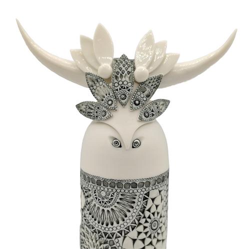 """Sculpture Porcelaine """"UMBRIA"""" Collection """"Déesse"""""""