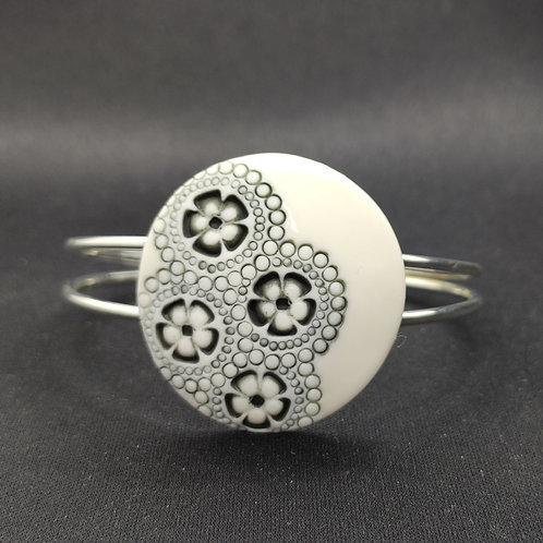 "Bracelet ""Luanda"" Porcelaine"