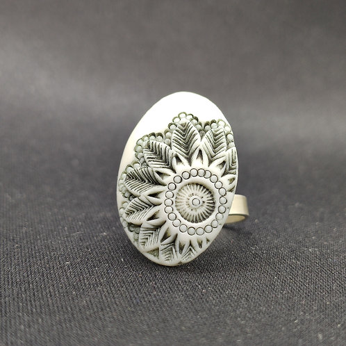 "Bague Porcelaine            Collection ""Malaga"""