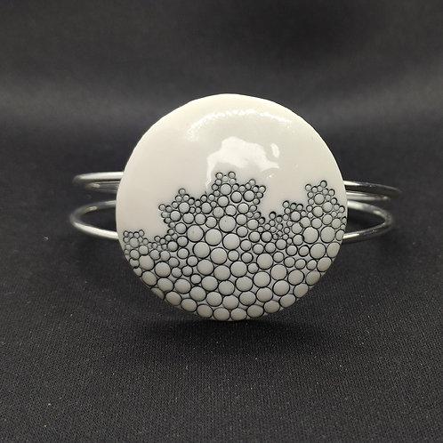 """Bracelet """"Malé"""" Porcelaine"""