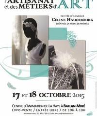 Salon des métiers d'art / Ballan-Miré . 17 et 18 Octobre 2015.