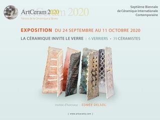 ArtCeram 2020 / Sèvres / 7ème Septième Biennale de Céramique internationale contemporaine.