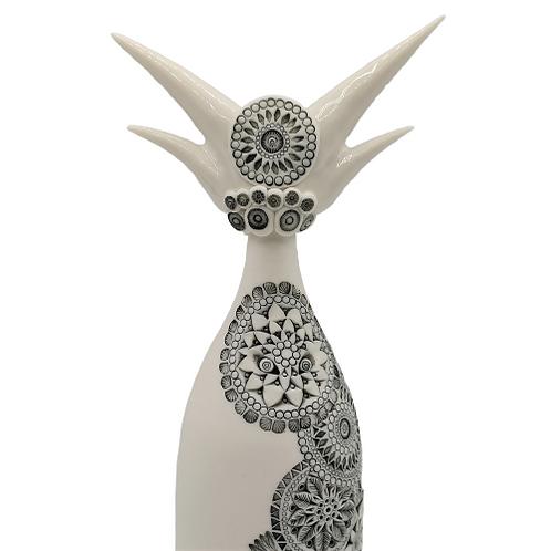 """Sculpture Porcelaine """"VETIS"""" Collection """"Déesse"""