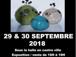 15ème Marché de potiers de Milly-La-Forêt  Samedi 29 et Dimanche 30 Septembre 2018