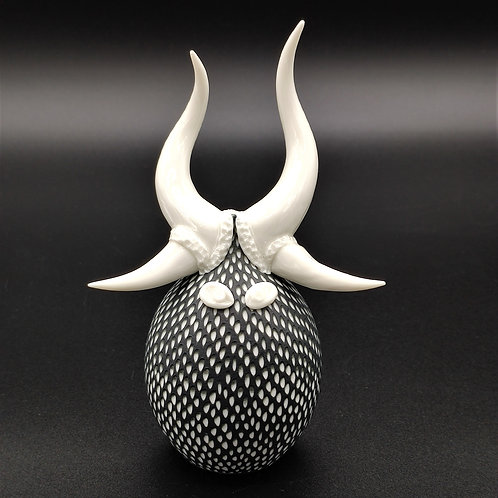 """Sculpture Porcelaine """"AYIL"""" Collection """"Créature"""""""