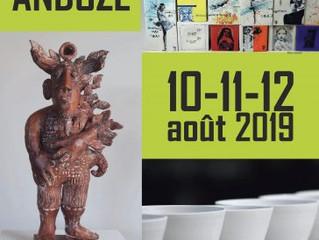 Festival de la céramique / Anduze / 10-11-12 aôut 2019.