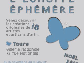 L'échoppe éphémère / Tours / 15 Novembre 2018 au 12 Janvier 2019.