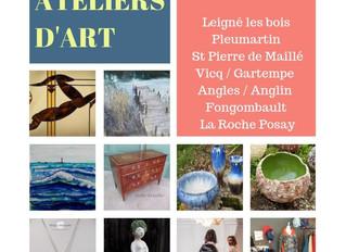 Porte-ouvertes / Chemin des Ateliers d'Art / 26 et 27 Octobre 2019/ Fontgombault