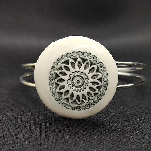 """Bracelet """"Delphes"""" Porcelaine"""