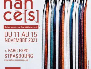 Résonance[s], salon européen des métiers d'art du 11 au 15 Nov 2021