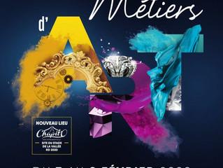 Salon des métiers d'art / Orléans / du 7 au 9 Février 2020.