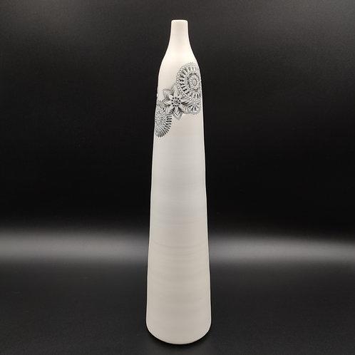 """Vase bouteille """"Couronne"""" 2 Porcelaine"""