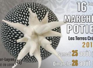 Marché Des Potiers - Les Terres Créatives De Rablay-Sur-Layon / 25 et 26 Aout 2018.
