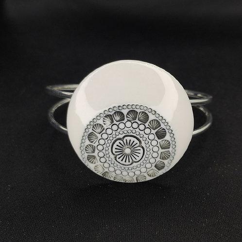 "Bracelet ""Bamako"" Porcelaine"