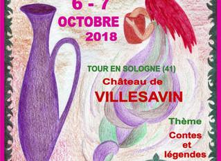 8ème festival de la céramique / TOUR EN SOLOGNE /  6 et 7 octobre 2018.