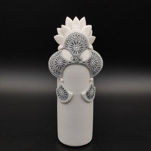 """Sculpture """"NIO"""" Collection """"Déesse"""" Porcelaine"""