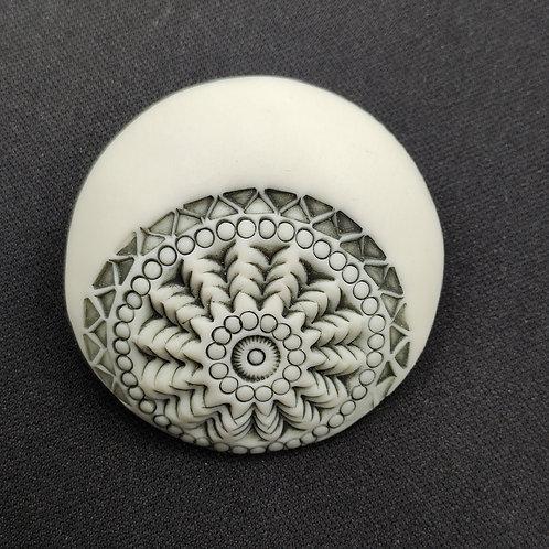 """Broche Porcelaine    Collection """"Calcutta"""""""