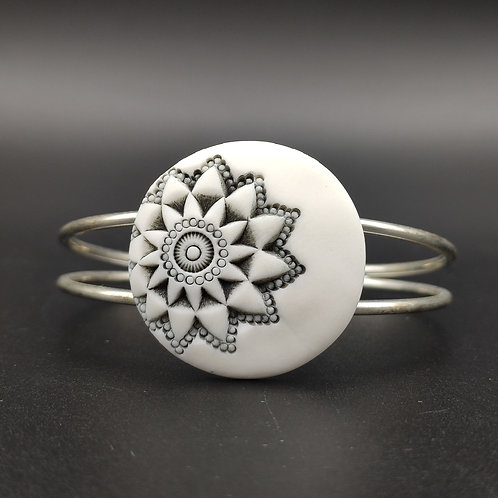 "Bracelet ""Hanoï"" Porcelaine"