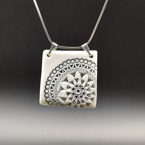 """Collier Porcelaine    Collection """"Chicago"""""""