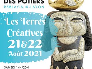 Les terres créatives de Rablay sur Layon 21 et 22 août