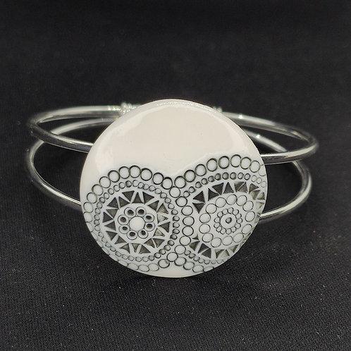 "Bracelet ""Caracas"" Porcelaine"