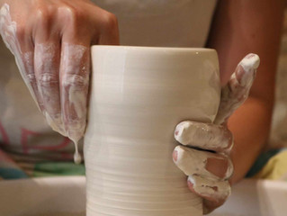 Reprise des cours de poterie.