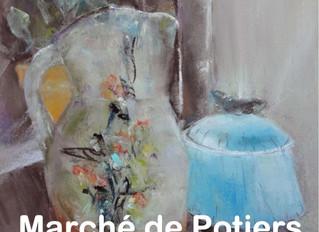 Marché de potiers / Argenton-sur-Creuse /  Dimanche 30 Juin 2019.