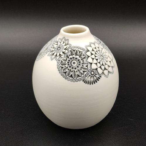 """Vase """"Couronne"""" 1 Porcelaine"""