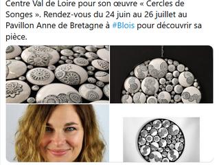 Résultat Concours Ateliers d'Art de France de la région Centre Val de Loire.