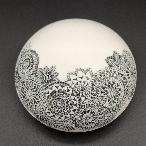 Boite-galet Porcelaine