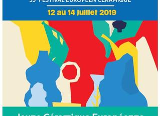 Terralha / 12 au 14 Juillet 2019 / 35ème Festival européen céramique / Saint-Quentin La-Poterie.