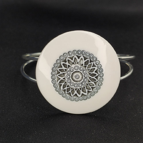 "Bracelet ""Amman"" Porcelaine"