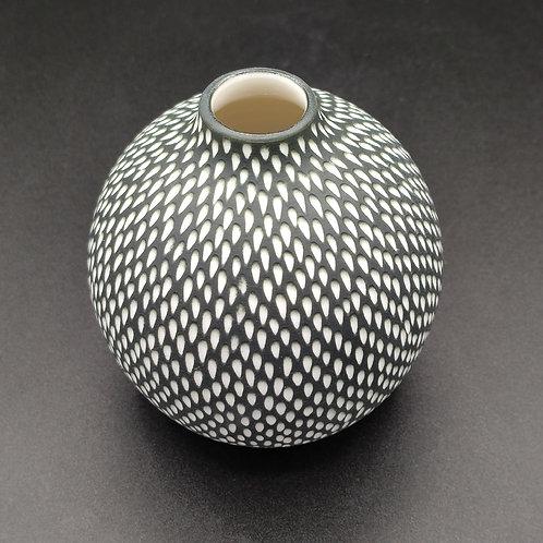 """Vase """"Pluie"""" Porcelaine"""