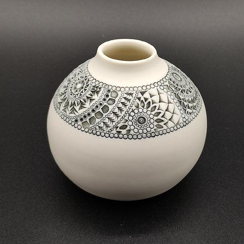 "Vase ""Ligne"" Porcelaine VL2"