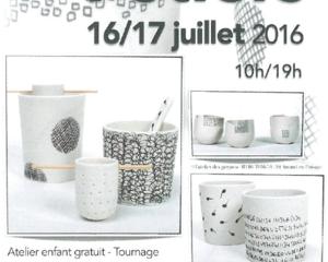 Foire des Potiers/ Saint Sauveur en Puisaye / 16 et 17 Juillet 2016.