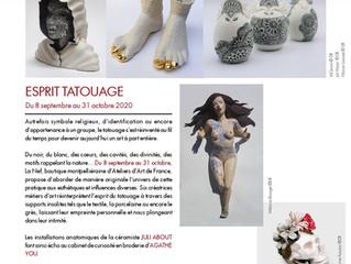 """Exposition """"Esprit Tatouage / La Nef / Montpellier / du 8 septembre au 31 octobre 2020."""