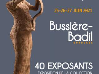 Marché céramique de Bussière-Badil 25 - 26 - 27 juin.