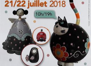 36ème Foire des potiers de Saint Sauveur en Puisaye/ 21 juillet à 10:00 - 22 juillet à 19:00