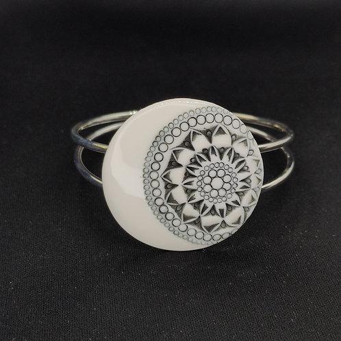 """Bracelet """"Bangkok"""" Porcelaine"""