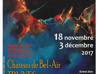 20ème Salon du petit format / Truyes / 18 Novembre au 3 Décembre 2017.