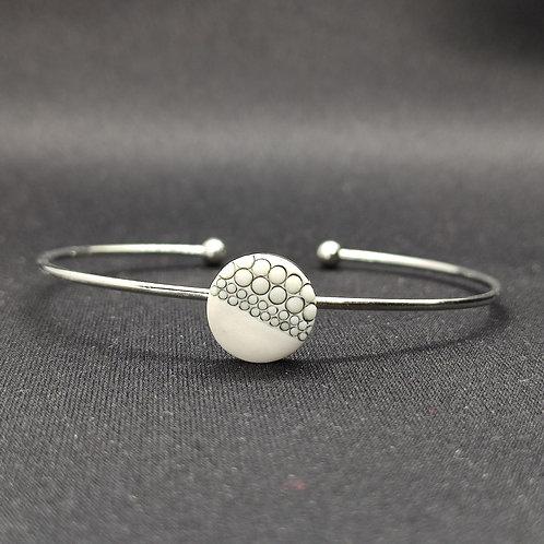 """Bracelet Porcelaine            Collection """"Basse-Terre"""""""